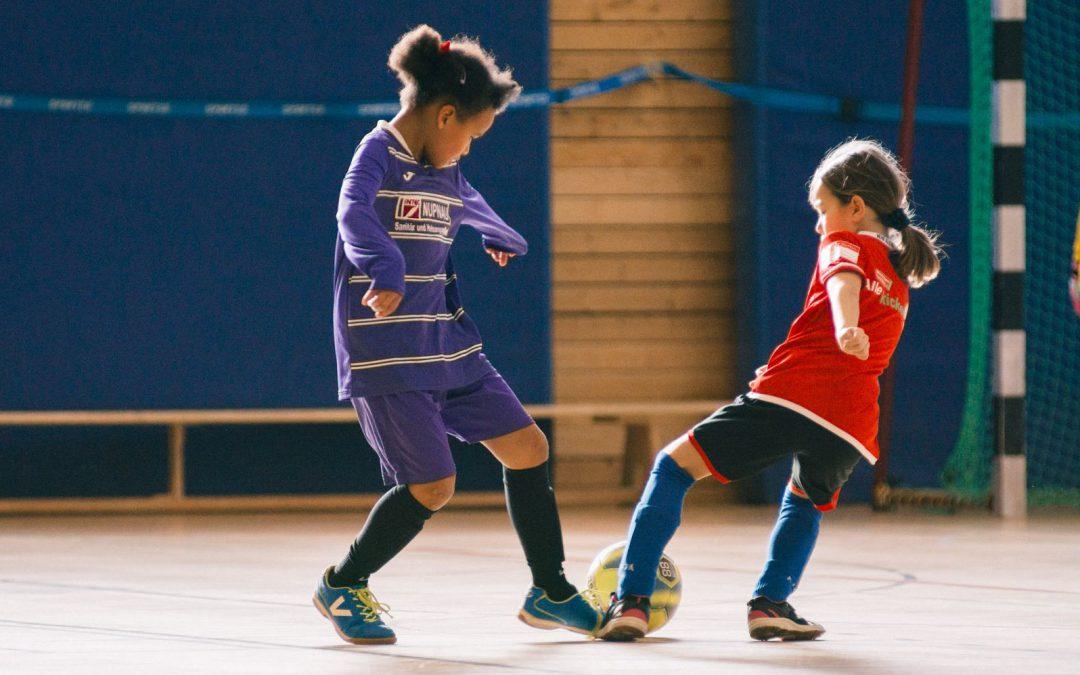 Unsere Mädchen spielen Fußball