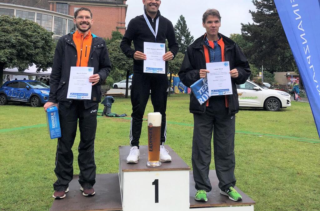 Sieger beim Berlin-Brandenburgischen Halbmarathon