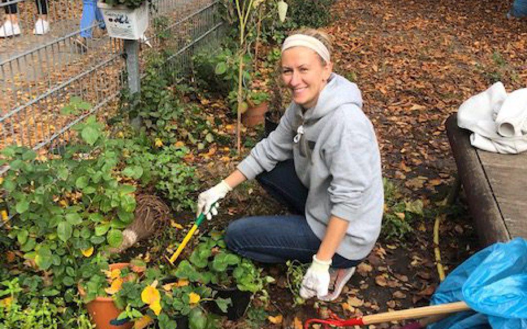 Gartenaktion mit Blacklane